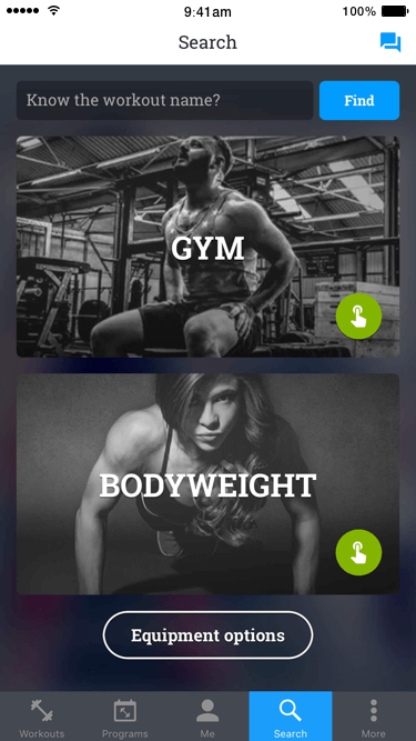 Gym and Bodyweight training