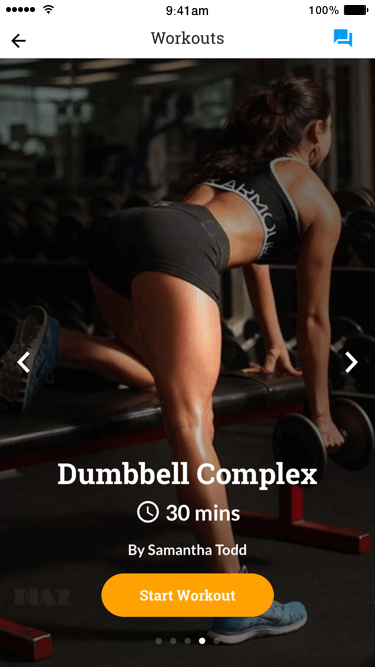 Dumbbell Complex